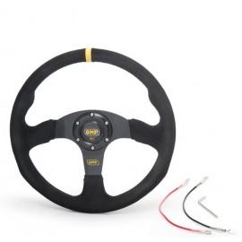 CNR steering wheel 350mm, flat