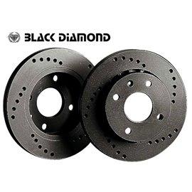 """Seat Alhambra  (7MS) All Models  Rear Disc (16"""" Wheels)  3/96 - Rear-Steel  Cross drilled"""