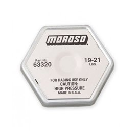 MOROSO racing radiator cap 19-21psi