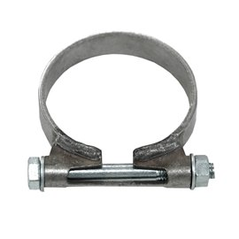 "Stainless ring clamp 48 mm for 1 3/4"" sleeves."