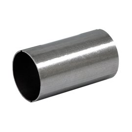 """Double end sleeve stainless steel 2"""""""