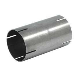 """Double end sleeve stainless steel 2.5"""""""