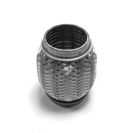 Exhaust flex pipe 55x105 heavy duty