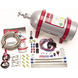 EDELBROCK Victor Direct Port Nitrous Kit for 4-Cylinder 50-125 HP with E2 Nozzles