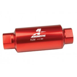 10-Micron Fabric Element Aeromotive 12377 Filter Bright-D AN-08 Male In-Line