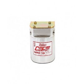 """MALLORY COMP140 fuel filter 40mic 3/8"""" NPT female inlet/outlet"""