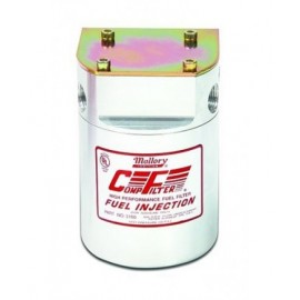 """MALLORY COMP160  fuel filter 5mic 3/8"""" NPT female inlet/outlet"""