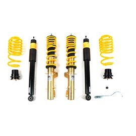 ST Coilovers ST XA galvanized steel (with damping adjustment) AUDI A3 8L/Golf IV 1J/Skoda Octavia/Seat Leon 4WD