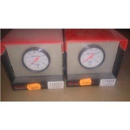 114323 Competition 2-1/16?? White Black Fuel Pressure*