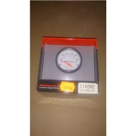 114202 Competition 2-1/16?? White Black Voltmeter