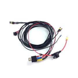 TWO-LAMP HARNESS KIT WITH SWITCH (ST/LINEAR/RRR)