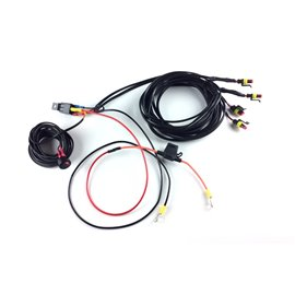 FOUR-LAMP HARNESS KIT WITH SWITCH (ST/LINEAR/RRR)