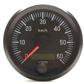"VDO kiirusnäidik Ø100mm, 0-60km/h, 12/24V ""INTERNATIONAL"""
