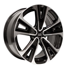 Enkei Truck & SUV series SVX 18x8.0 PCD 5x114,3 Offset/Et 40 Black, polished