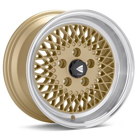 Enkei Classic series Enkei92 15x8.0 PCD 4x100 Offset/Et 25 Gold, polished