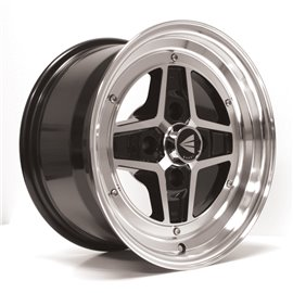 Enkei Classic series Apache II. 15x8.0 PCD 4x100 Offset/Et 25 Black, polished
