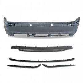 BMW 3er E46 4-doors year 5.1998 - 2005 Rear bumper in sports design
