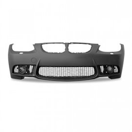 BMW 3er E92 Coup?? year 9.2006 - 2009 and E93 Cabrio year 3.2007 Front bumper in sports design with fog light covers