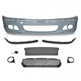 BMW 3er E46 year 1998 - 2005 Front bumper in racing design