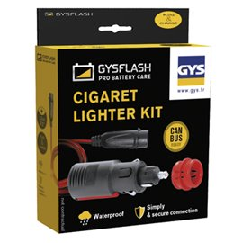 CIGARETTE LIGHTER KIT FOR GYSFLASH 1 TO 7 GYS