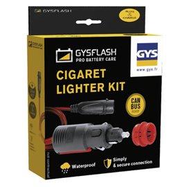CIGARETTE LIGHTER KIT FOR GYSFLASH 1 TO 7 GYS