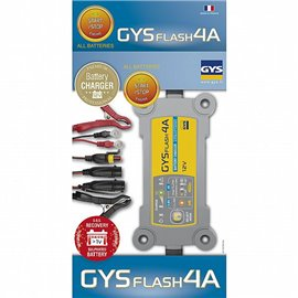 BATTERY CHARGER GYSFLASH 4A 12V 1,2-70AH(130AH) GYS