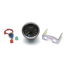 TA Technix / Viair double pressure indicator, black