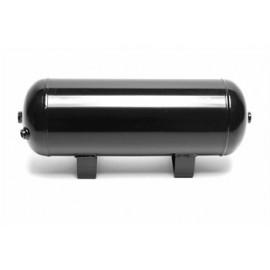 TA Technix air tank 11,5 liters / 3 gallons / air tank black  tank dimensions in mm (LxWxH) 460 x 165 x 205   tank connections