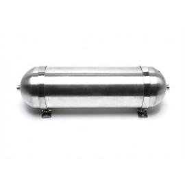 TA Technix seamless air tank 11 liters / air tank aluminum brushed anodised  tank dimensions in mm (LxWxH) 650 x 170 x 170/190 w