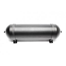 TA Technix seamless air tank 11 liters / air tank aluminum brushed / black anodised  tank dimensions in mm (LxWxH) 650 x 170 x 1