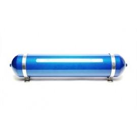 TA Technix seamless air tank 19 liters / air tank blue with carbon verneered  tank dimensions in mm (LxWxH) 850 x 170 x 170/190