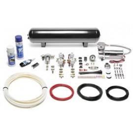 TA Technix air management system for air suspension / airride 480er Viair compressor 19 liters / 5 gallons - black tank Viair du