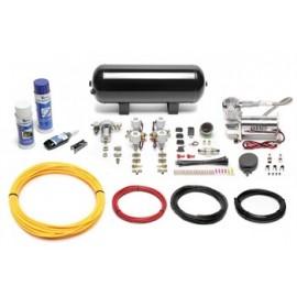TA Technix air management system for air suspension / airride 380er Viair compressor 11,5 liters / 3 gallons - black tank Viair