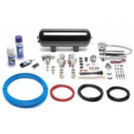 TA Technix air management system for air suspension / airride 480er Viair compressor 11,5 liters / 3 gallons - black tank Viair