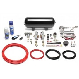 TA Technix air management system for air suspension / airride 380er Viair compressor 11,5 liters / 3 gallons - black tank Viair