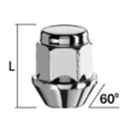 MUTTER M12X1,25/30/19 (KINNINE, P30, CH19) INOX PEA