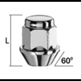 MUTTER M12X1,25/30/21 (KINNINE, P30, CH21) INOX PEA