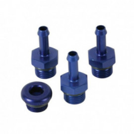TURBOSMART FPR Fitting System -6 AN to 6mm