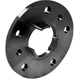 SP12424W DISTANTSPLAAT, 2TK. (SPACER) 10MM. 5X130 CB71,6, PORSCHE (SYSTEM 2P), MUST