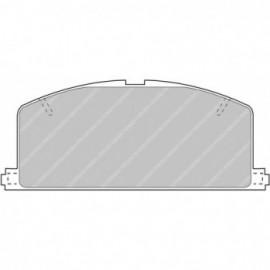 Ferodo Racing brake pads FCP308H DS2500