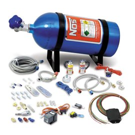 NOS 05131 NOS NITROUS SYSTEM MULTI-FIT For 8 Cylinder Multi-Point EFI Engines, includes 10 lb Blue Bottle. 75-125 hp.
