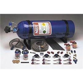 NOS 05150 Nitrous Oxide System, EFI, Dry, 40-75 hp, 20 lb. Bottle, Blue, Volkswagen, 1.8/2.0L, Kit
