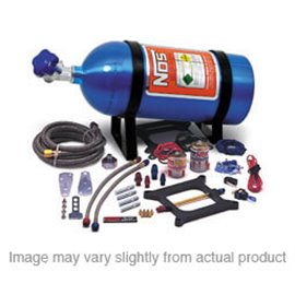 NOS 02101 Big Shot Nitrous System Holley 4 bbl (Holley 4150 Flange) 190-300 HP with 10 lb bottle