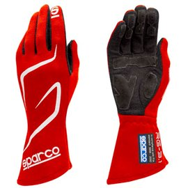 SPARCO Land RG-3 gloves red size 8