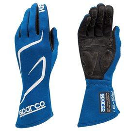 SPARCO Land RG-3 gloves blue size 8