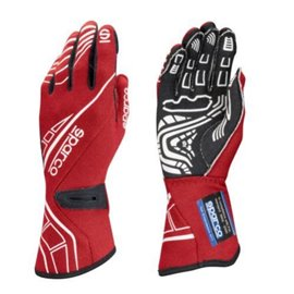 SPARCO LAP RG-5 gloves red size 8