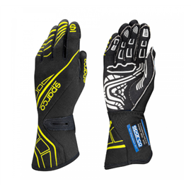 SPARCO LAP RG-5 gloves black yellow FLUO size 8