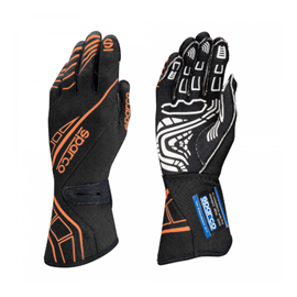 SPARCO LAP RG-5 gloves black orange FLUO size 10