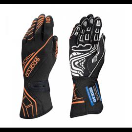 SPARCO LAP RG-5 gloves black orange FLUO size 9