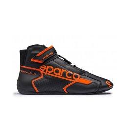 SPARCO 00125143NRAF FORMULA RB-8.1 shoes black orange size 43